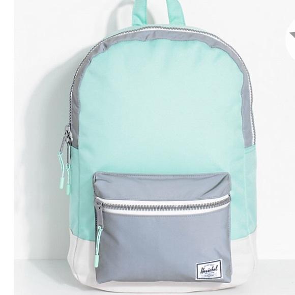 NWT Herschel Supply Co. Settlement Green Backpack 9289e01291fa5